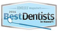 Honolulu Magazine's Best Dentists 2016