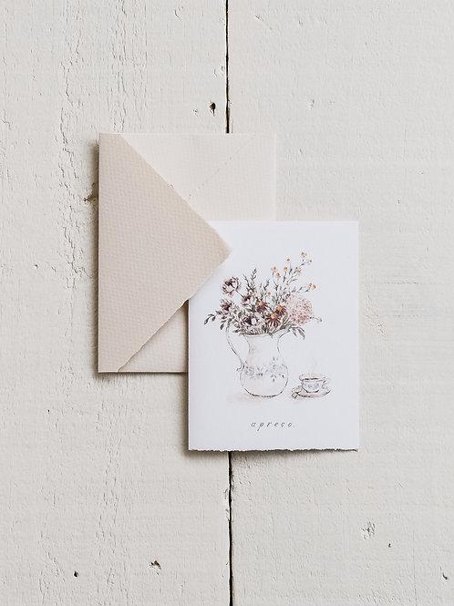 cartão 'apreço'