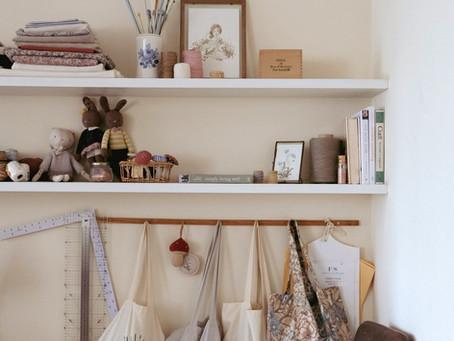 Projetos do inverno: tricô, crochê e um pouco de organização