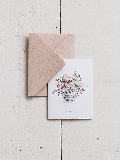 cartão 'amor'