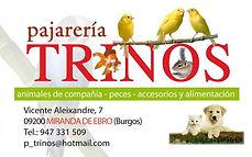 Logotipo_pajareria_Trinos_Tienda_animale