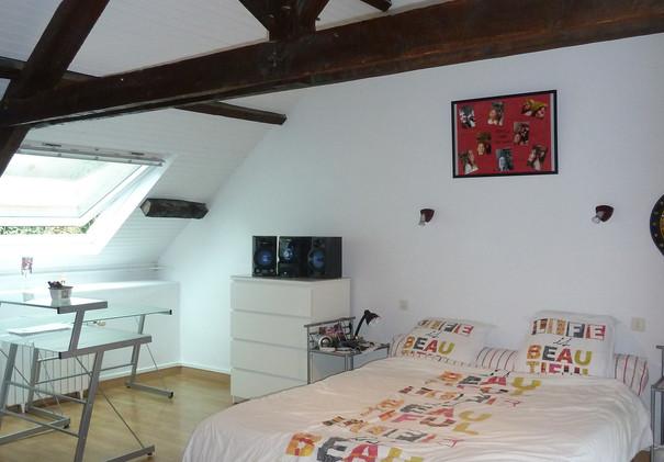 Chambre lambris | peinture, décors | Rennes Liffré Bretagne ...