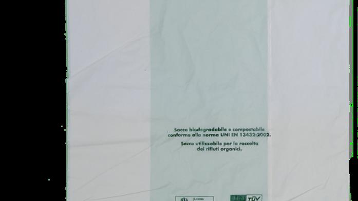 BOLSA COMPOSTABLE  36X40  /CAJA DE 500 UNIDADES- RESISTE 4 KILOS APROX