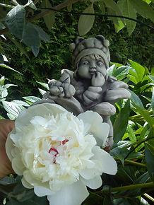 im Garten Ruhe finden