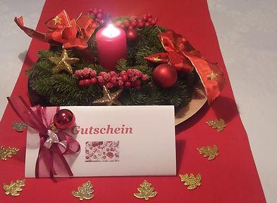 Weihnachtsgutschein