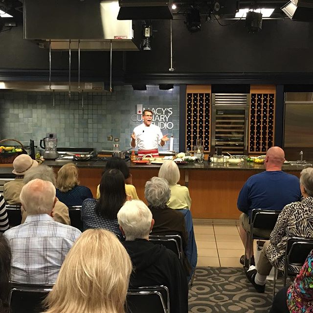 Cooking demo with Rick Bayless!