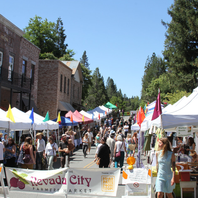 Nevada City Farmers Market