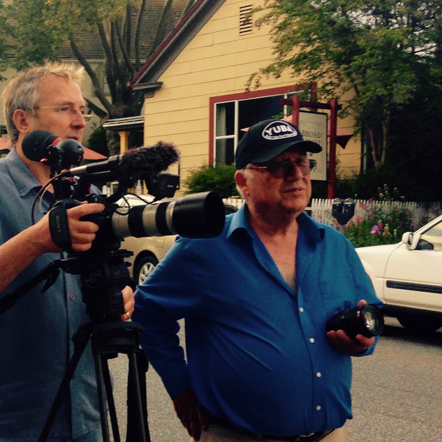 Production crew gets busy in Nevada City