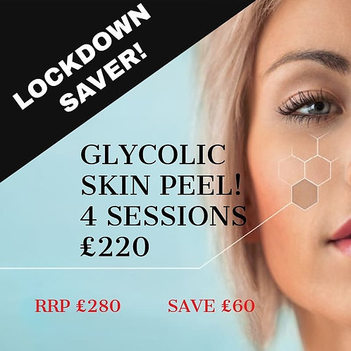 Glycolic Skin Peel (4 sessions)