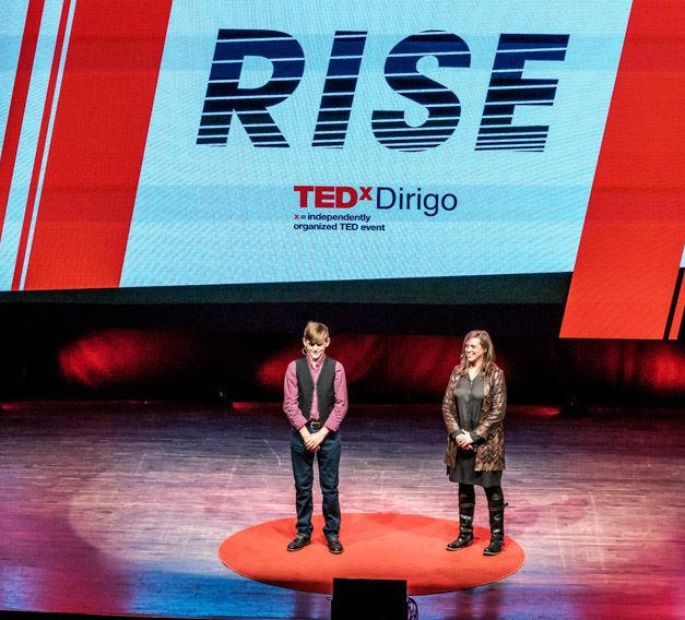 TEDx Talk - Community Water Justice Cofounders