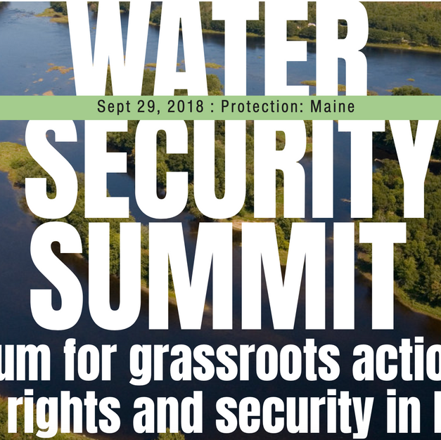Maine's 'First' Water Security Summit