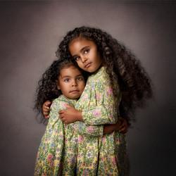 sibling fine art portrait
