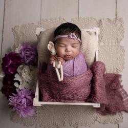 Cutest newborn portrait