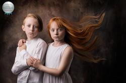 award wining child portrait