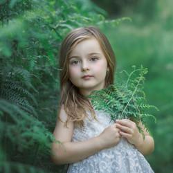 Stunning loclation child portrait