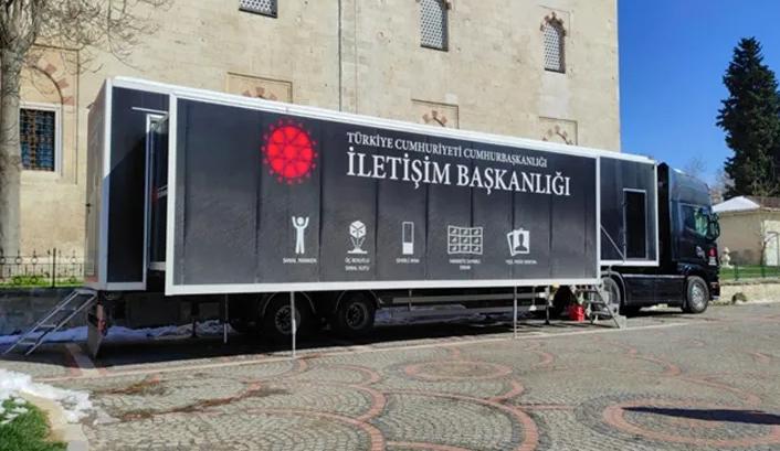 """""""Dijital Tır"""" Tekirdağ'da ziyaretçilerini bekliyor"""