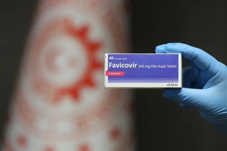 favicovir korona ilacı
