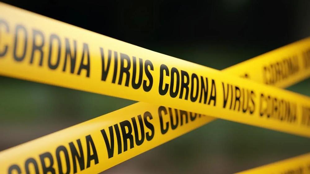 korona virüs şeridi