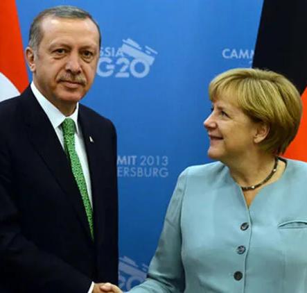 Erdoğan ve Merkel Doğu Akdeniz'i görüştü