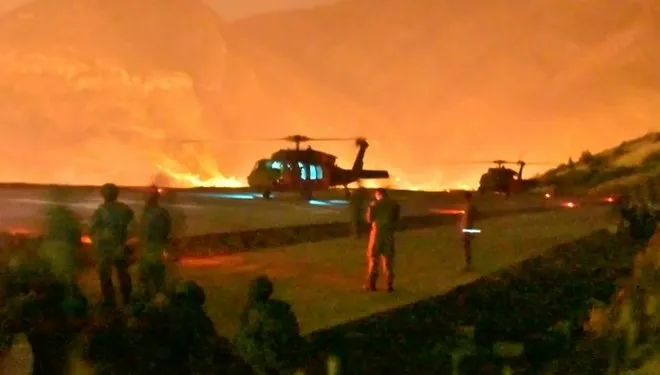 pençe operasyonu görüntüsü