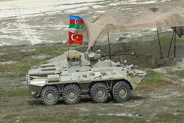 Azerbaycan-Türkiye'ortak tatbikatı