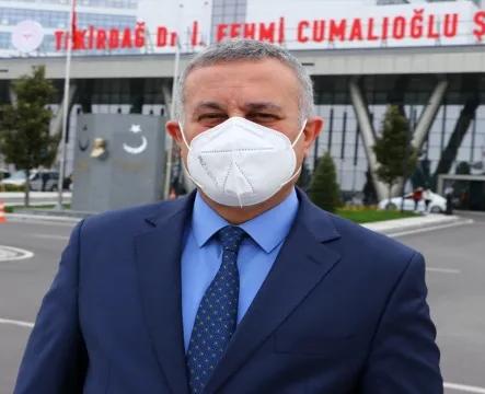 Tam kapanma sonrası Tekirdağ'da vaka sayılarının düşmesi bekleniyor