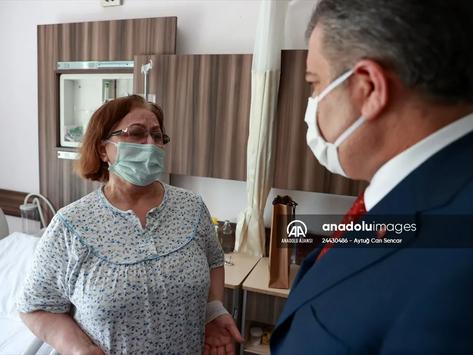 Sağlık Bakanı Koca, Edirne'de