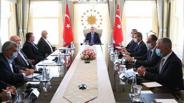 ABD'den Erdoğan'ın Hamas heyetiyle görüşmesine ilişkin açıklama