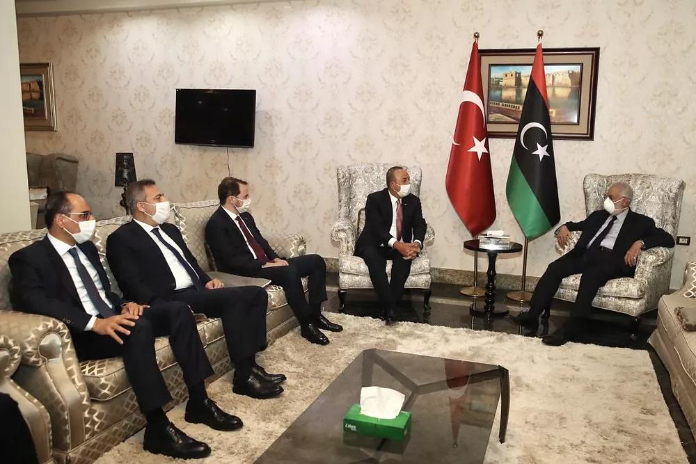 libya ziyareti bakanlıklar