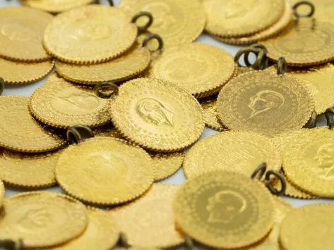 Altın fiyatları 8 ayın en düşük seviyesini gördü