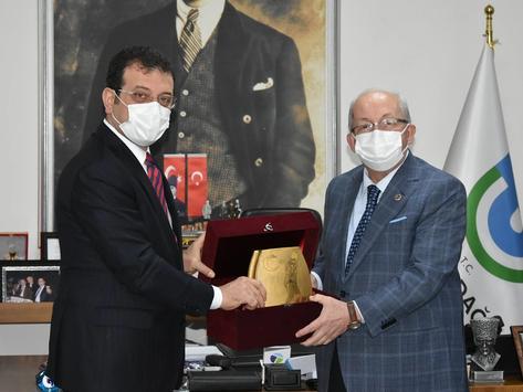 İBB Başkanı İmamoğlu'dan Tekirdağ Büyükşehir Belediyesi'ne ziyaret