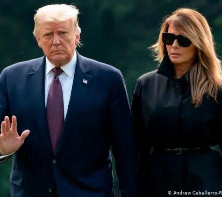 Trump ve First Lady'nin Koronavirüs testi pozitif çıktı