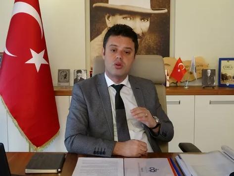 Çorlu Belediye Başkanı Sarıkurt'un Kovid-19 testi pozitif çıktı