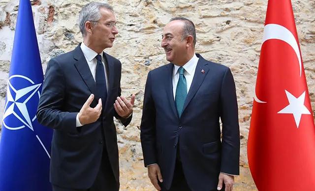 Çavuşoğlu ile NATO Genel Sekreteri Stoltenberg