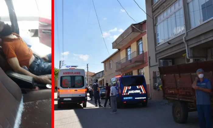 tekırdagda cinayet ambulans