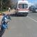 Yaralanan motosiklet sürücüsüne müdahaleyi çarptığı ambulanstaki ekip yaptı