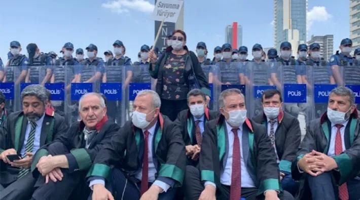avukatlar yürüyüşü