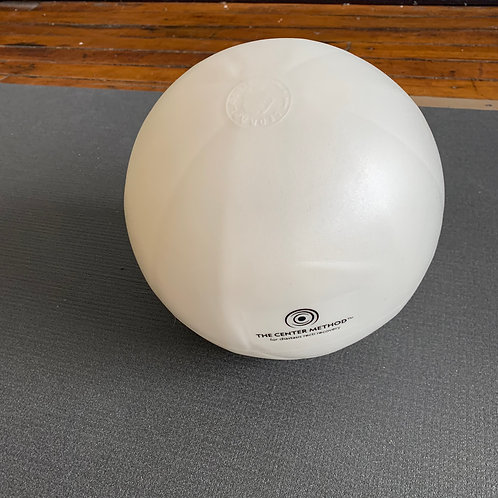 White Small Exercise Ball