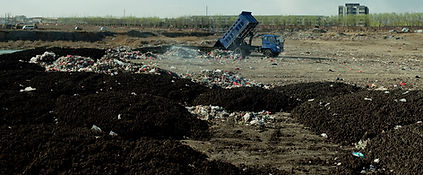 Wang Jiuliang  Besieged by waste sludge dumping