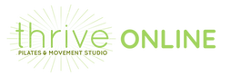Thrive Pilates Online Logo