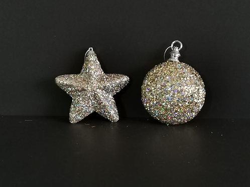 Conjunto 2 peças decoração natal - NL044