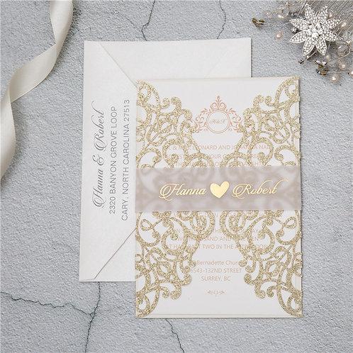 Convite Casamento Rendilhado 2021162.WPL0041G-390