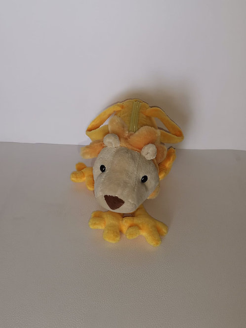 Mala peluche leão