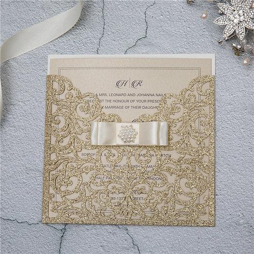 Convite Casamento Rendilhado 2021157.WPL0070G-460