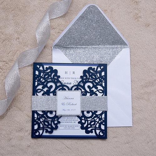 Convite Casamento Rendilhado 2021141.WPL0135-350