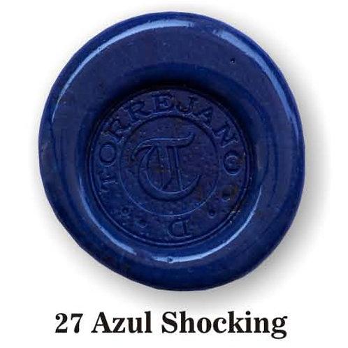 Lacre Azul Shocking n.27