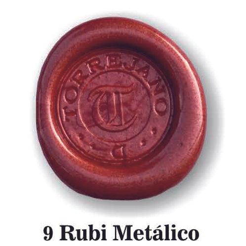 Lacre Rubi Metálico n.9