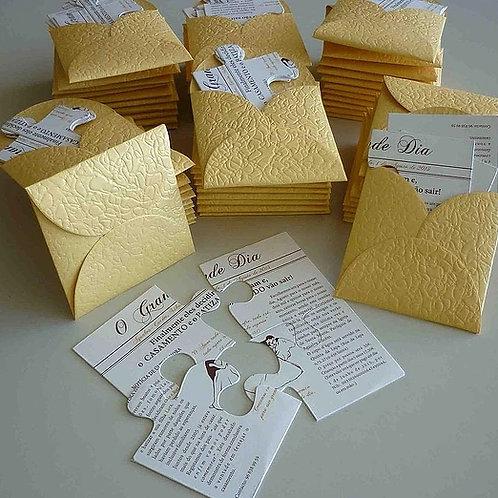 Convite Casamento Puzzle 2021101-180/230