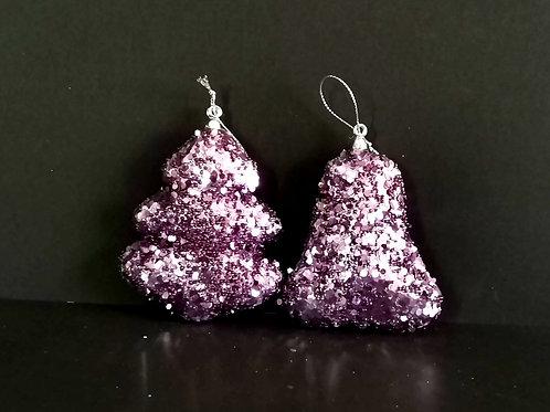Conjunto 2 peças decoração de natal - NL035