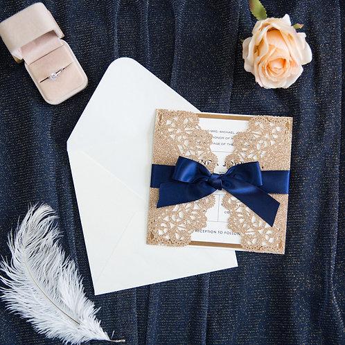 Convite Casamento Rendilhado 2021159.WPL0067G-390